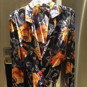 """ELLEN TRACY WRAPPED BLOUSE """"GENTLY USED"""""""